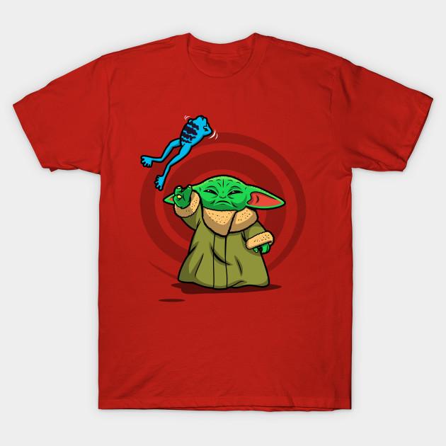 Chokingly Cute Baby Yoda T-Shirt