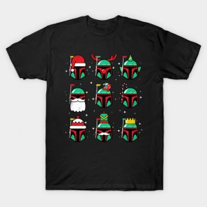 The Mandalorian Christmas T-Shirt