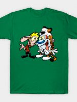 Clavren and Stimpsy T-Shirt