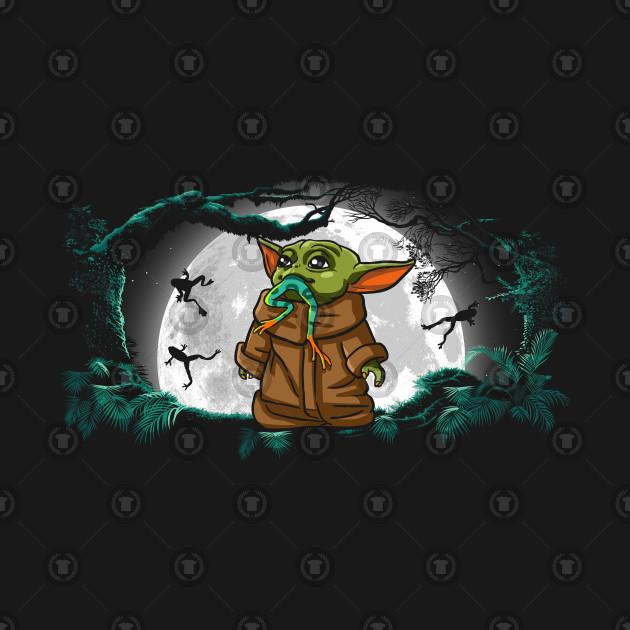 Frog predator Baby Yoda