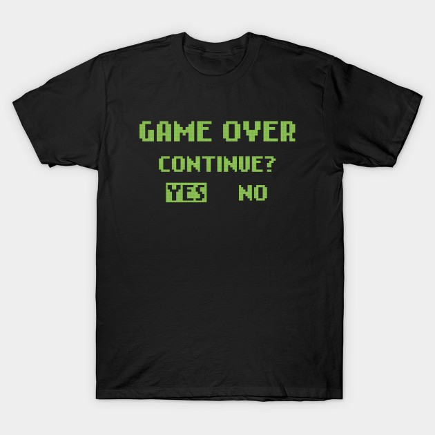 GAME OVER - CONTINUE?