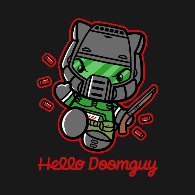 Hello Doomguy