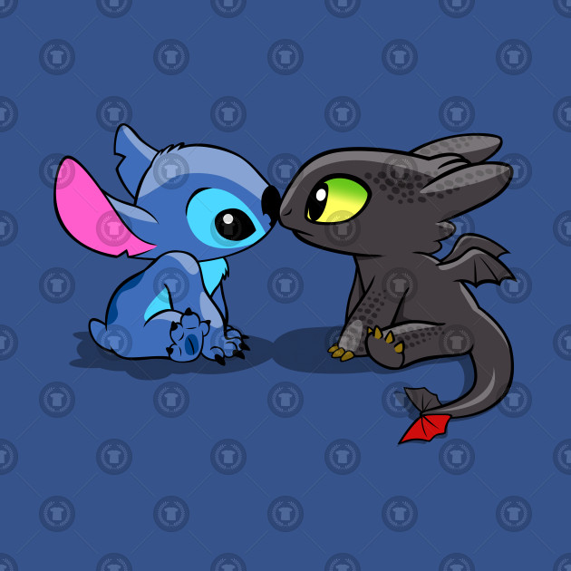 Stitch/Toothless