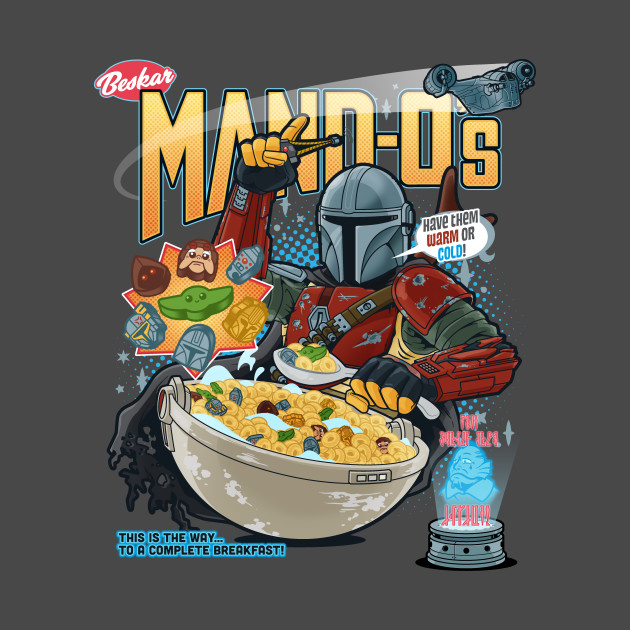 Mand-O's Cereal