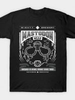 Mighty Brews - Black Mastodon T-Shirt