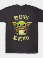 Baby yoda coffee T-Shirt