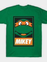 Obey the Ninja! (MIKEY) T-Shirt