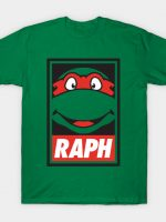 Obey the Ninja! (RAPH) T-Shirt