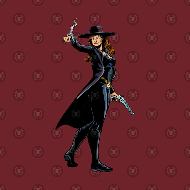 Old West Black Widow
