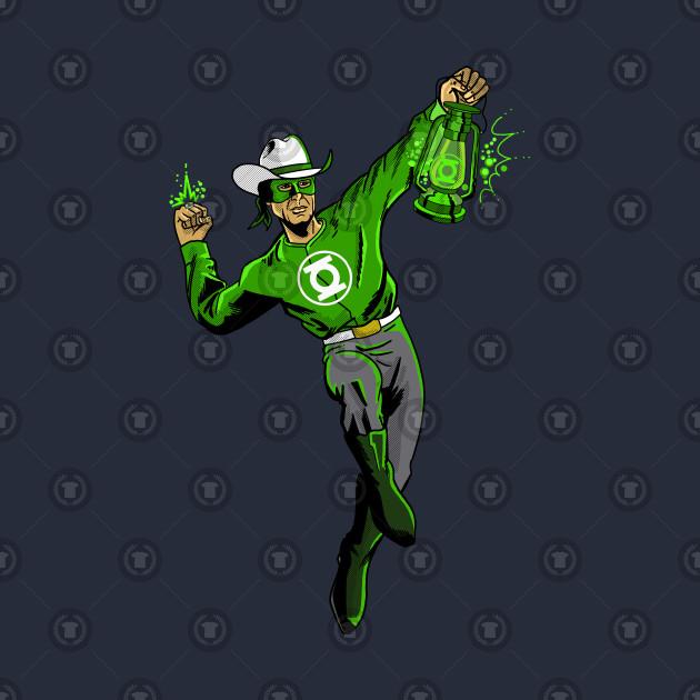 Old West Green Lantern