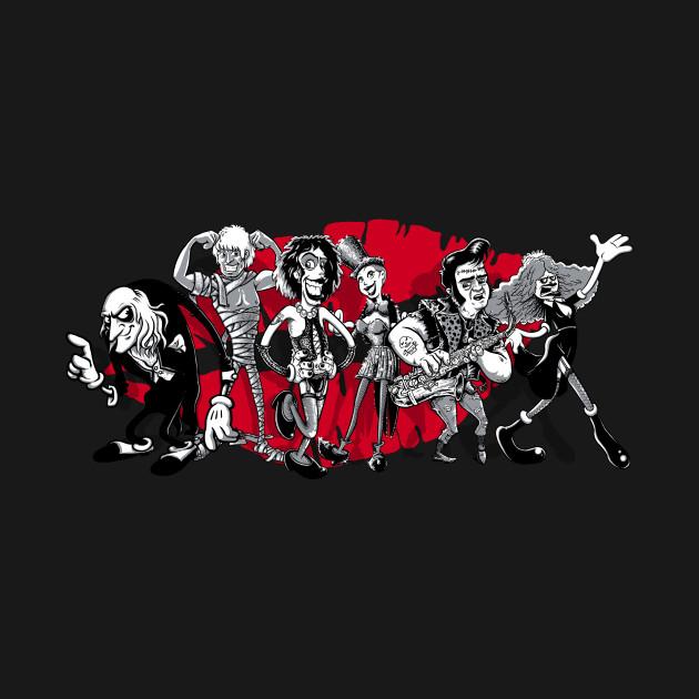 Rocky Horror Gang of Six