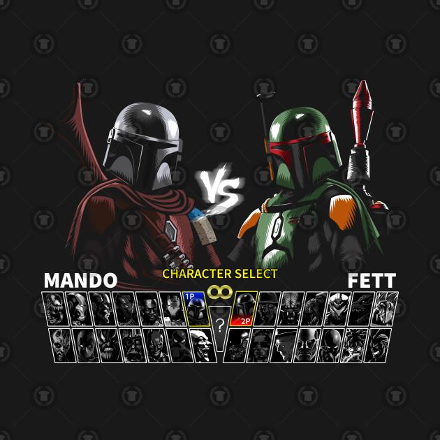 Select Mando vs Paz