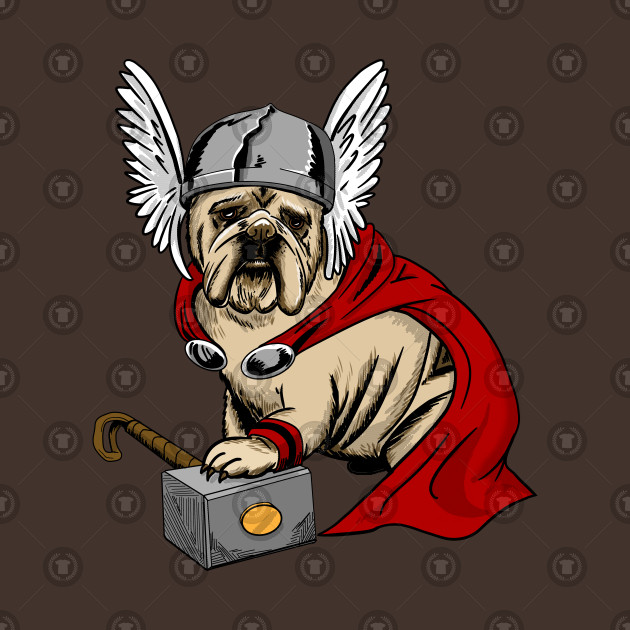The Mighty Bulldog Thor