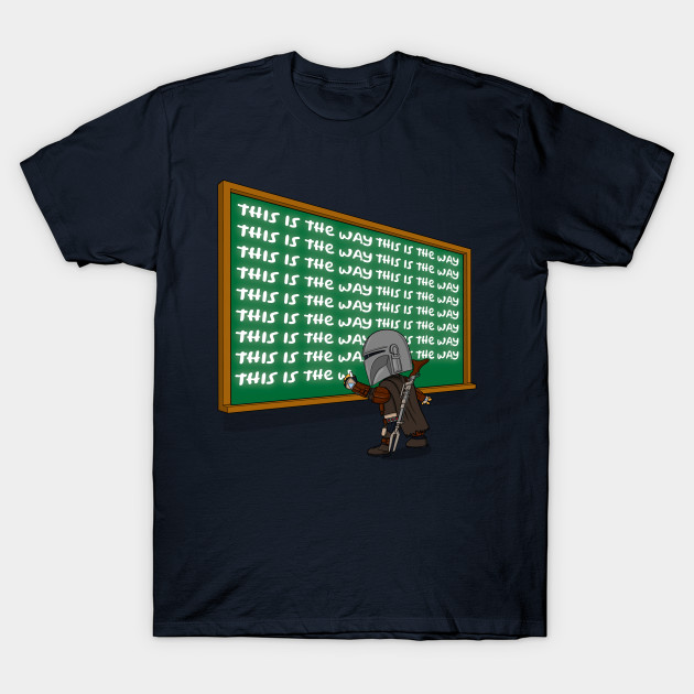 Mandalorian This is the Way T-Shirt