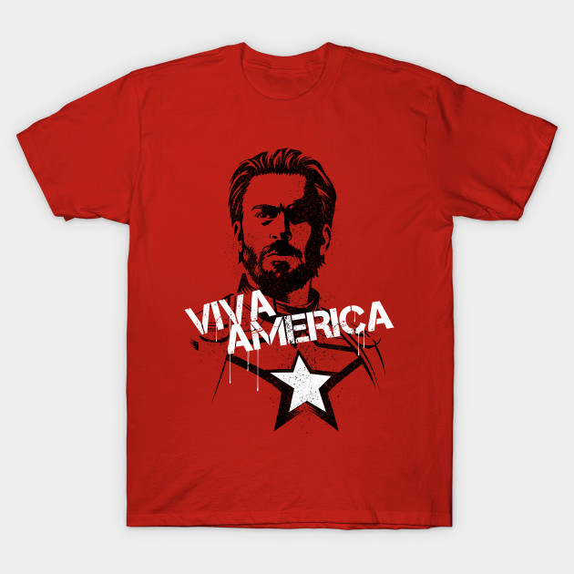 Viva Captain America T-Shirt