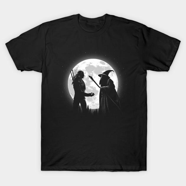 The Witcher vs Gandalf T-Shirt