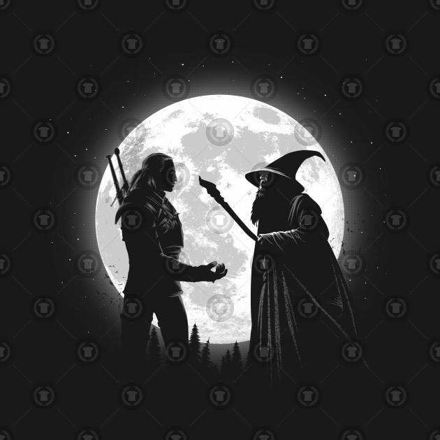 The Witcher vs Gandalf