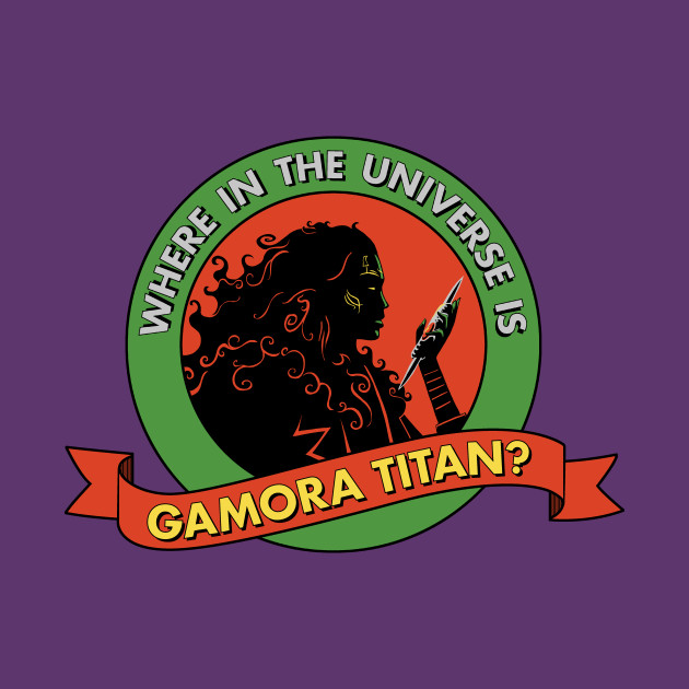 Where in the universe is Gamora Titan