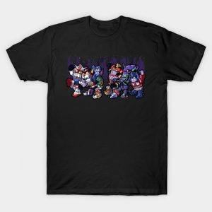 Where the Wild Mechs Are T-Shirt