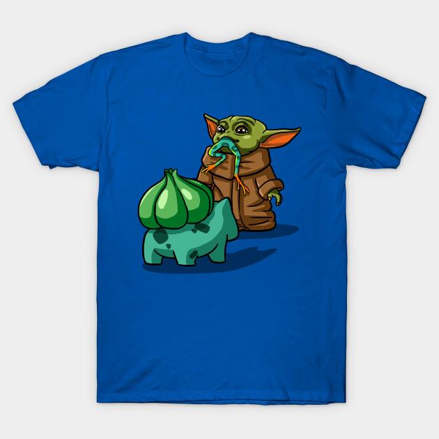 Baby Yoda/Bulbasaur T-Shirt