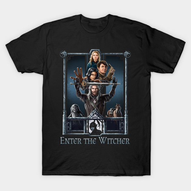 Enter The Witcher T-Shirt