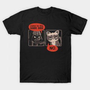 Dart Vader vs. Grumpy Cat T-Shirt