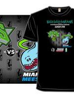 Pickle Ricks vs Miami Meeseeks T-Shirt