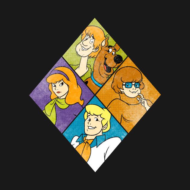 Retro Scooby