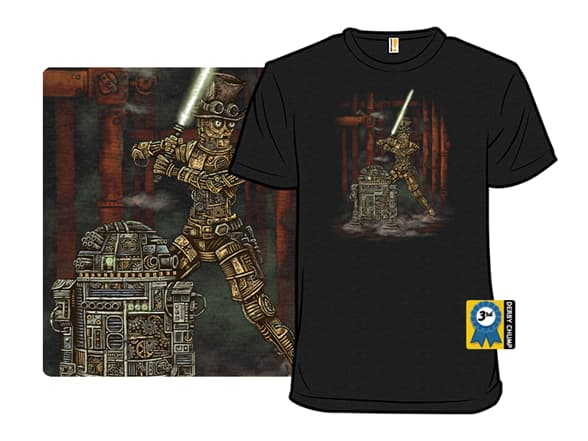 Victorian Battle Droids T-Shirt