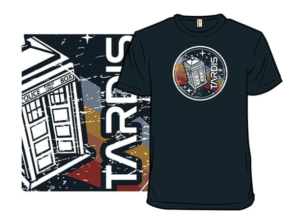 Vintage Tardis T-Shirt