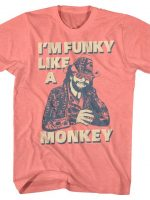 Funky Like A Monkey Macho Man T-Shirt