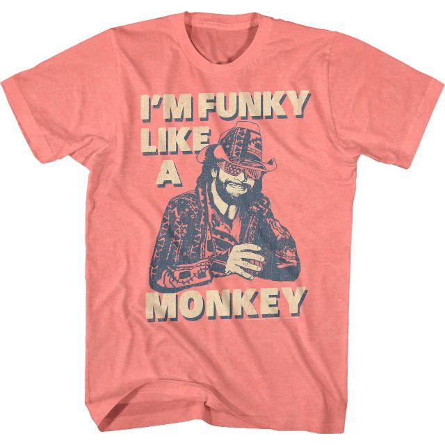 Funky Like A Monkey Macho Man