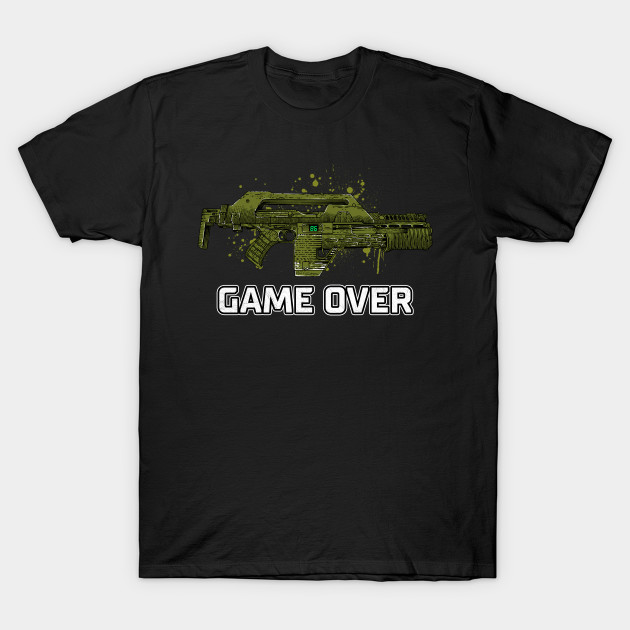 Game Over Marines T-Shirt