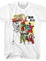 Japanese Street Fighter II T-Shirt