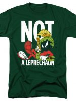 Marvin The Martian Not A Leprechaun T-Shirt