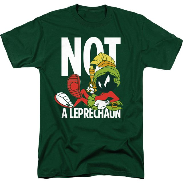 Marvin The Martian Not A Leprechaun