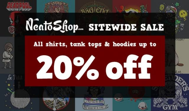 NeatoShop 20% Off Sale
