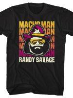 Repeating Macho Man Logo T-Shirt