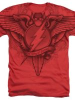 The Flash Gothic Logo DC Comics T-Shirt