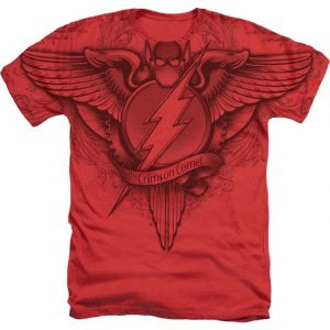 The Flash Gothic Logo DC Comics