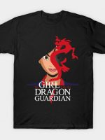THE GIRL WITH THE DRAGON GUARDIAN T-Shirt
