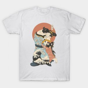 The Kiss Ukiyo-e T-Shirt