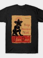 Tournée du Demogorgon Noir T-Shirt