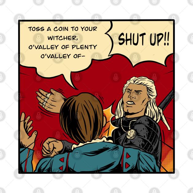 witcher slap