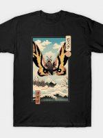 Ancient Moth Ukiyo-e T-Shirt