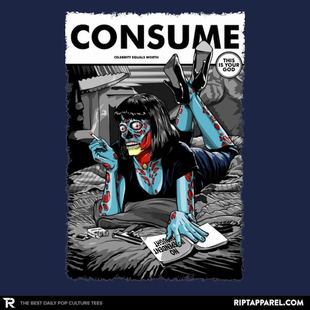 CONSUME FICTION