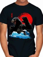 GODZILLA WAVE JAPAN ART T-Shirt