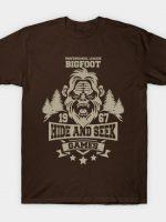 Hide and Seek Games T-Shirt
