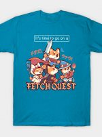 It's Time to go on a Fetch Quest T-Shirt