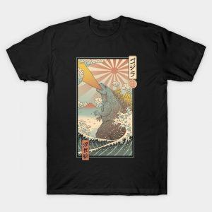 King Kaiju Ukiyo-e T-Shirt
